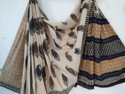 Cotton Mulmul Saree With Blouse 24