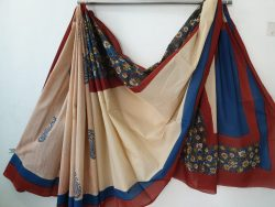 Cotton Saree With Blouse 6