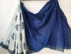Cotton Saree With Blouse 7