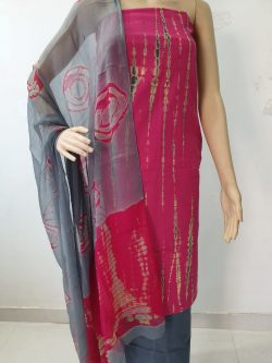 Cotton Suit With Chiffon Dupatta 12