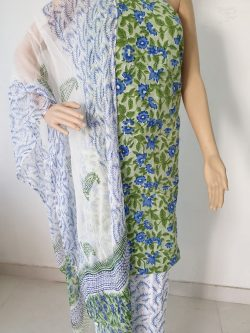 Cotton Suit With Chiffon Dupatta 17