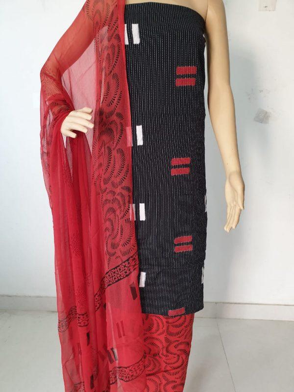 Kantha Cotton Fabric Suit Set 11