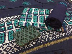 Batik Print Chanderi Silk Suit (26)