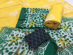 Batik Print Chanderi Silk Suit (27)
