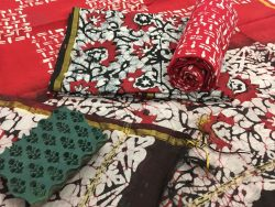 Batik Print Chanderi Silk Suit (28)