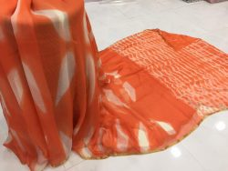 Clamp Chiffon Saree (4)