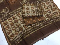 Dabu Batik Print Chanderi Suit (1)