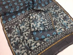 Dabu Batik Print Chanderi Suit (3)