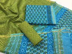 Mugal Print Chanderi Silk Suit (7)