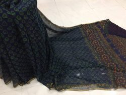 Pure Chiffon Saree With Blouse (1)