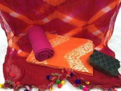 Pure Cotton Pompom Suit Set (1)