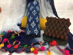 Pure Cotton Pompom Suit Set (30)