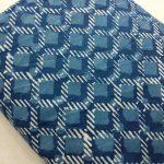 Indigo dabuobjects print cotton running material