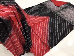 Traditional Shibori Soft Cotton Mulmul Saree (116)
