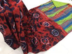 Traditional Shibori Soft Cotton Mulmul Saree (64)