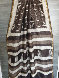 Block Print Chanderi Saree (2)