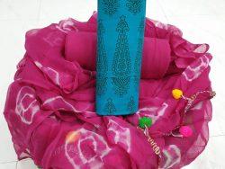 Pompom Cotton Suit (9)