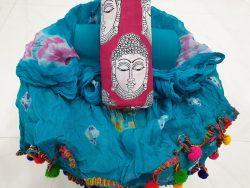 Pompom Cotton Suit Set (10)