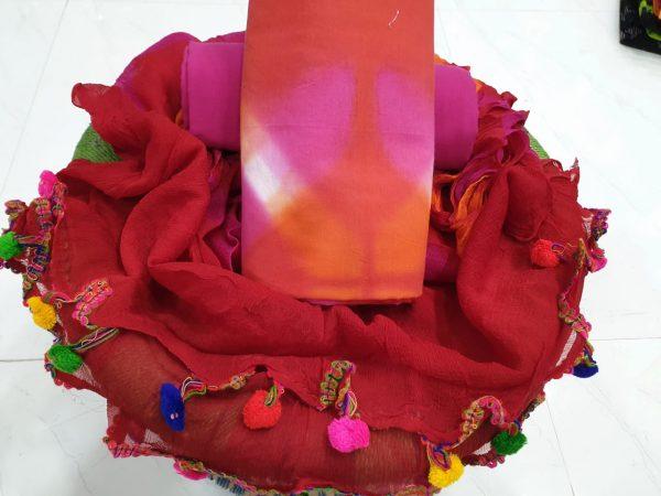 Pompom Cotton Suit Set (4)