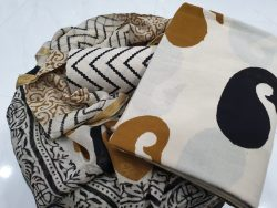 Zari Border Cotton Suit Set (20)