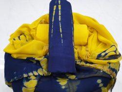 Zari Border Cotton Suit Set (9)