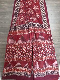 Printed Mul Saree (1)