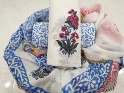 Zari Border Cotton Chudi (14)