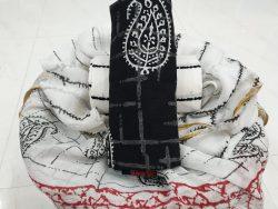Zari Border Cotton Chudi (9)