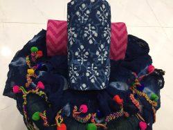 Pompom Cotton Suit (2)
