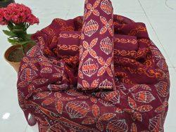 Chiffon Dupatta Cotton Suit (1)