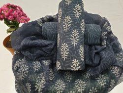 Chiffon Dupatta Cotton Suit (105)