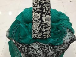 Chiffon Dupatta Cotton Suit (23)