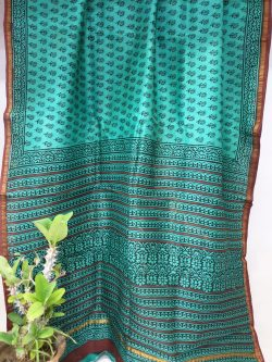 Chanderi Saree With Blouse (12)