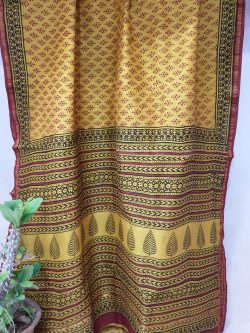 Chanderi Saree With Blouse (8)