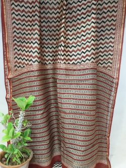 Chanderi Saree With Blouse (9)