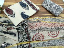 Cotton Suit With Zari Border (16)