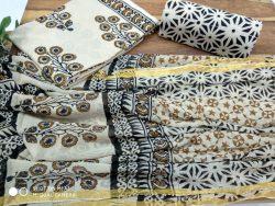 Cotton Suit With Zari Border (2)