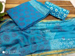 Cotton Suit With Zari Border (4)