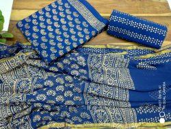 Cotton Suit With Zari Border (6)