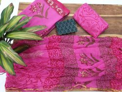 Jaipur Cotton Suit With Zari Border Dupatta (10)