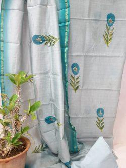Party Wear Chanderi Dress (19)