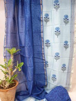 Party Wear Chanderi Dress (6)