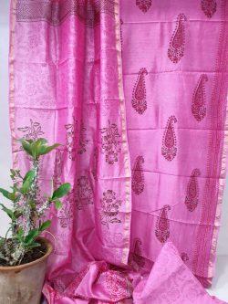 Party Wear Chanderi Dress (9)