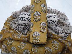 Chiffon Dupatta Cotton Suit (10)