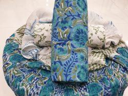 Chiffon Dupatta Cotton Suit (4)