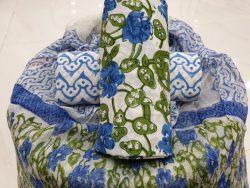Chiffon Dupatta Cotton Suit (6)