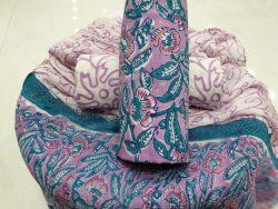 Chiffon Dupatta Cotton Suit (9)