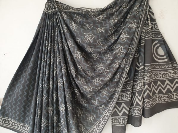Cotton Mulmul Saree (10)