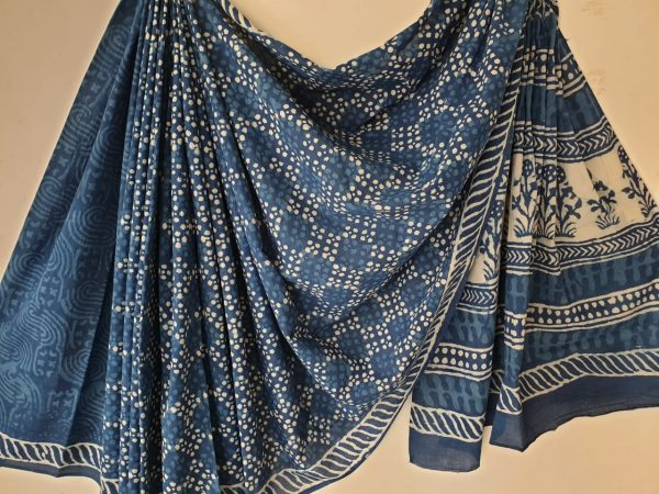 Cotton Mulmul Saree (3)