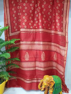 Party Wear Chanderi Saree (1)